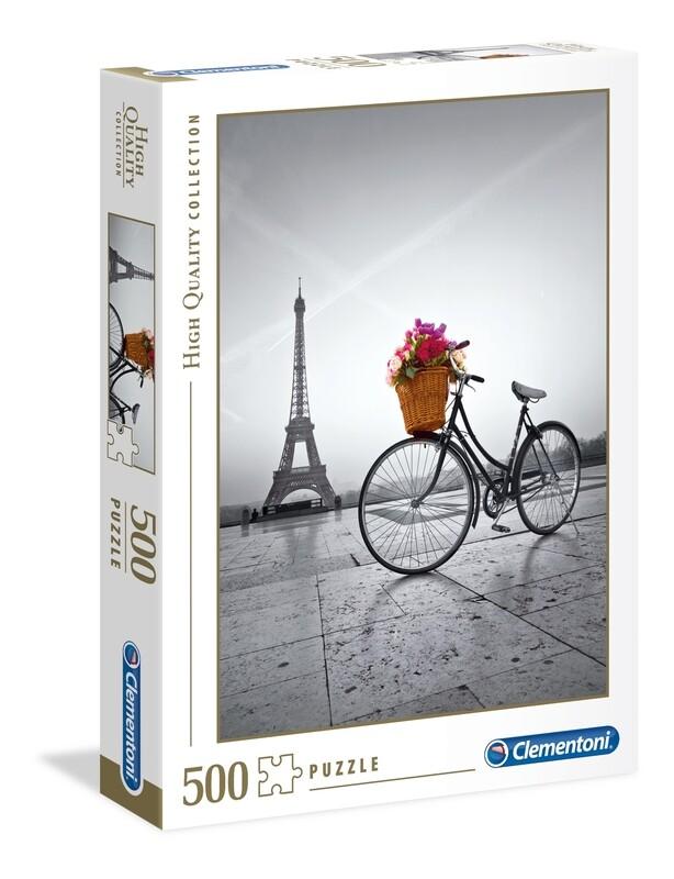 PUZZLE 500 HQ  Romantic Promenade - CLEMENTONI