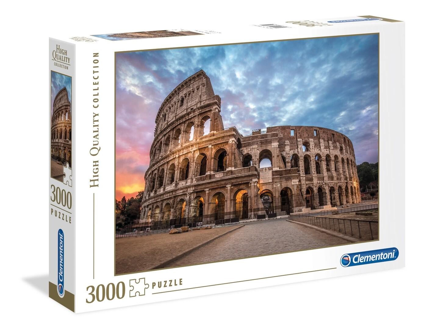 PUZZLE 3000 HQ Colosseum Sunrise - CLEMENTONI