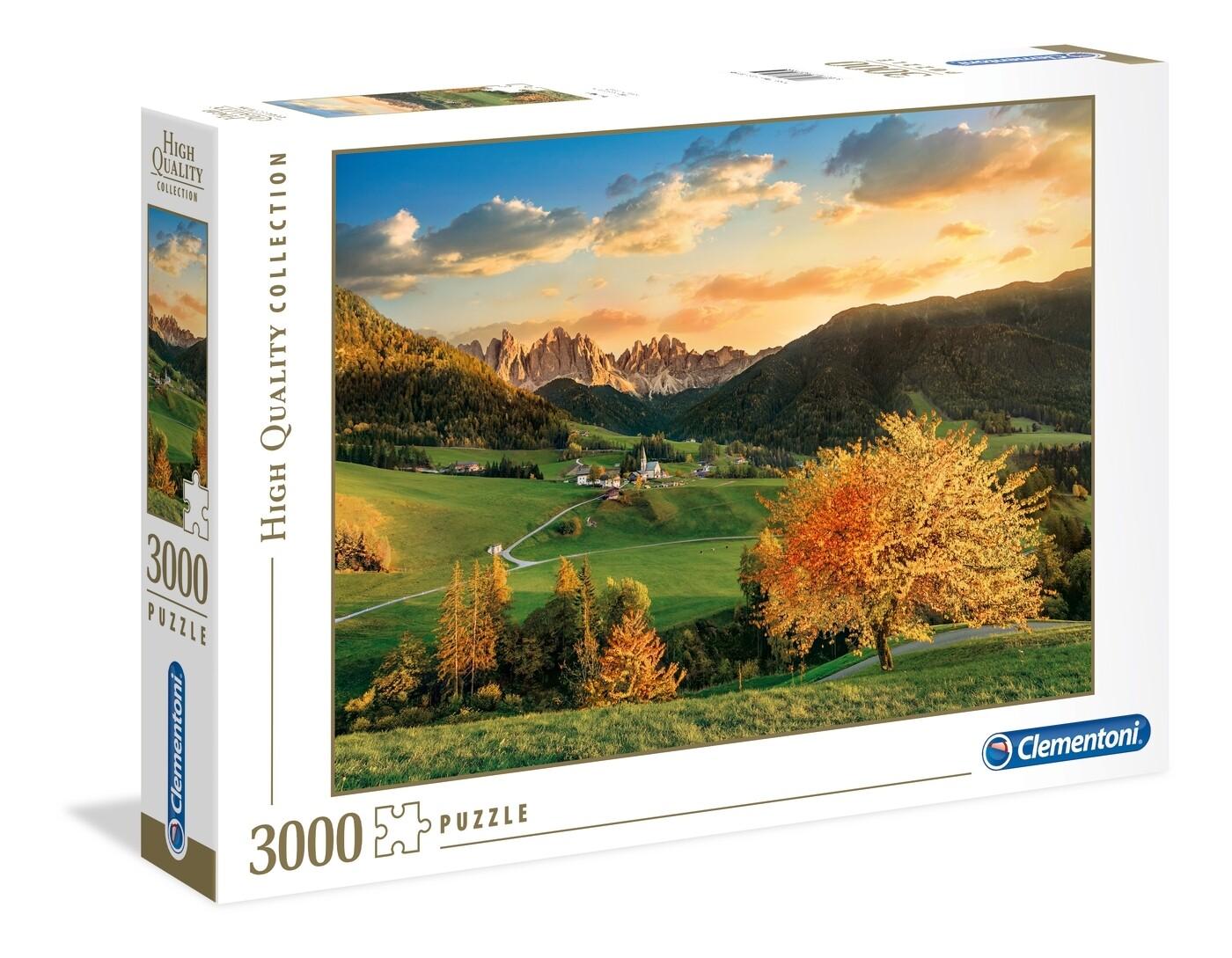 PUZZLE 3000 HQ The Alps - CLEMENTONI