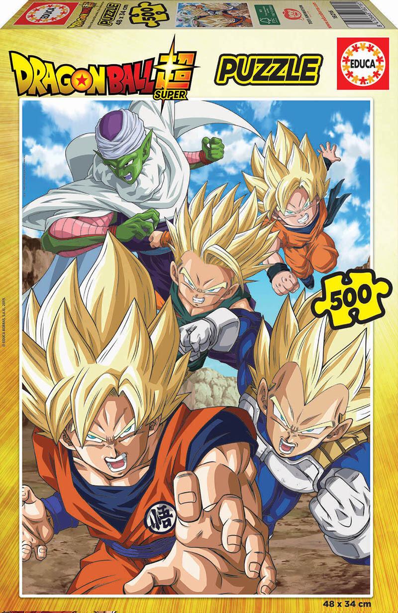 PUZZLE 500 pcs Dragon Ball Z - EDUCA
