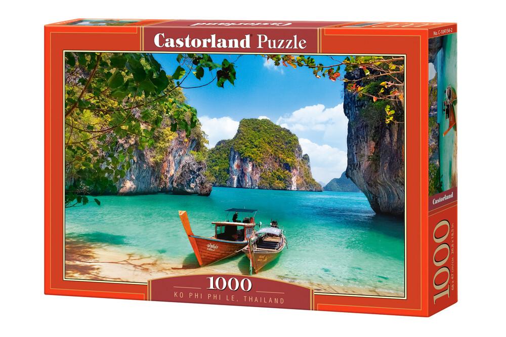PUZZLE 1000 pcs Ko Phi Phi Le - Thailândia - CASTORLAND
