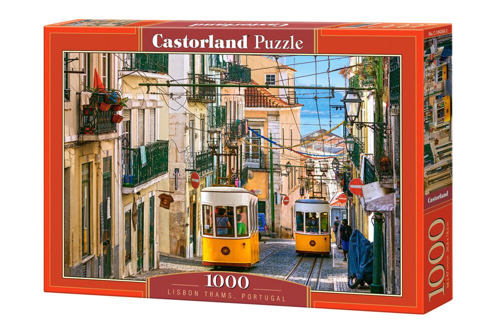 PUZZLE 1000 pcs - Elétricos de Lisboa - CASTORLAND
