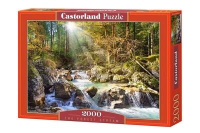 PUZZLE 2000 pcs - Riacho na Floresta CASTORLAND