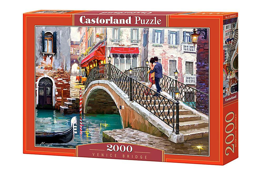 PUZZLE 2000 pcs - Ponte em Veneza - CASTORLAND
