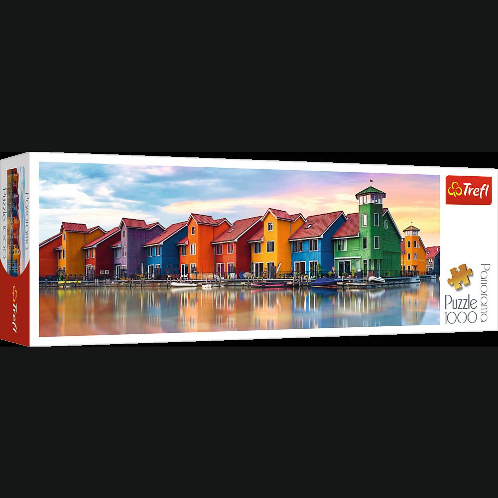 PUZZLE 1000 pcs PANORAMIC - Groningen - TREFL