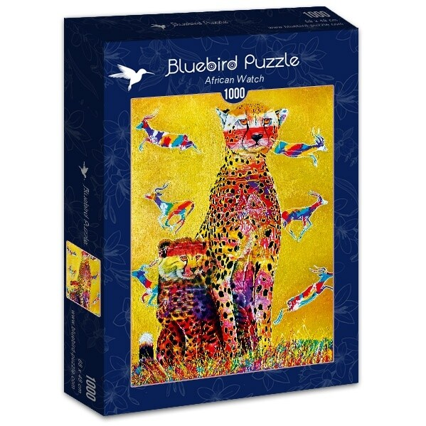 PUZZLE 1000 pcs - African Watch - BLUEBIRD