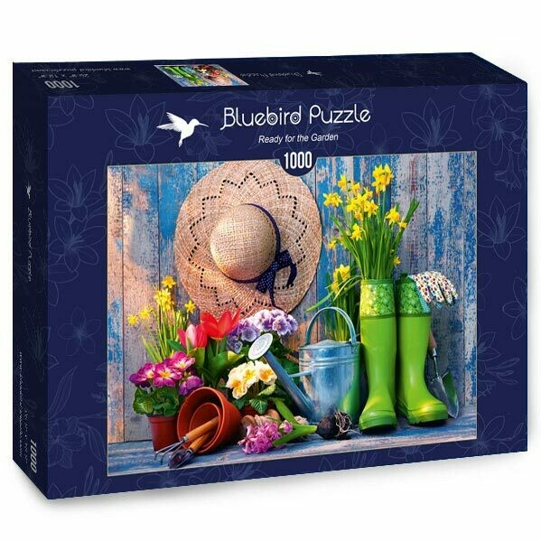 PUZZLE 1000 pcs - Jardinagem - BLUEBIRD