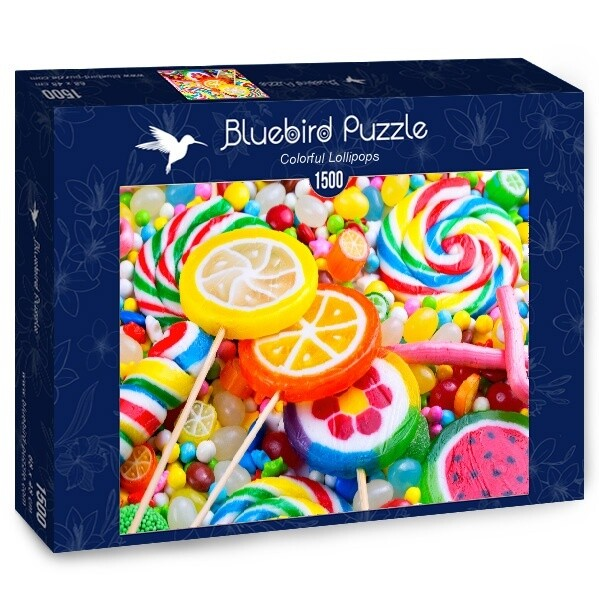 PUZZLE 1500 pcs - Doces Coloridos - BLUEBIRD