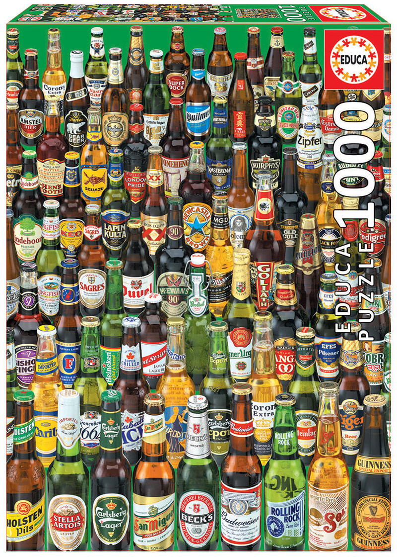 PUZZLE 1000 pcs Cervejas - EDUCA