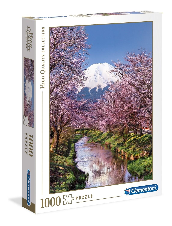 PUZZLE 1000 HQ Monte Fuji - CLEMENTONI