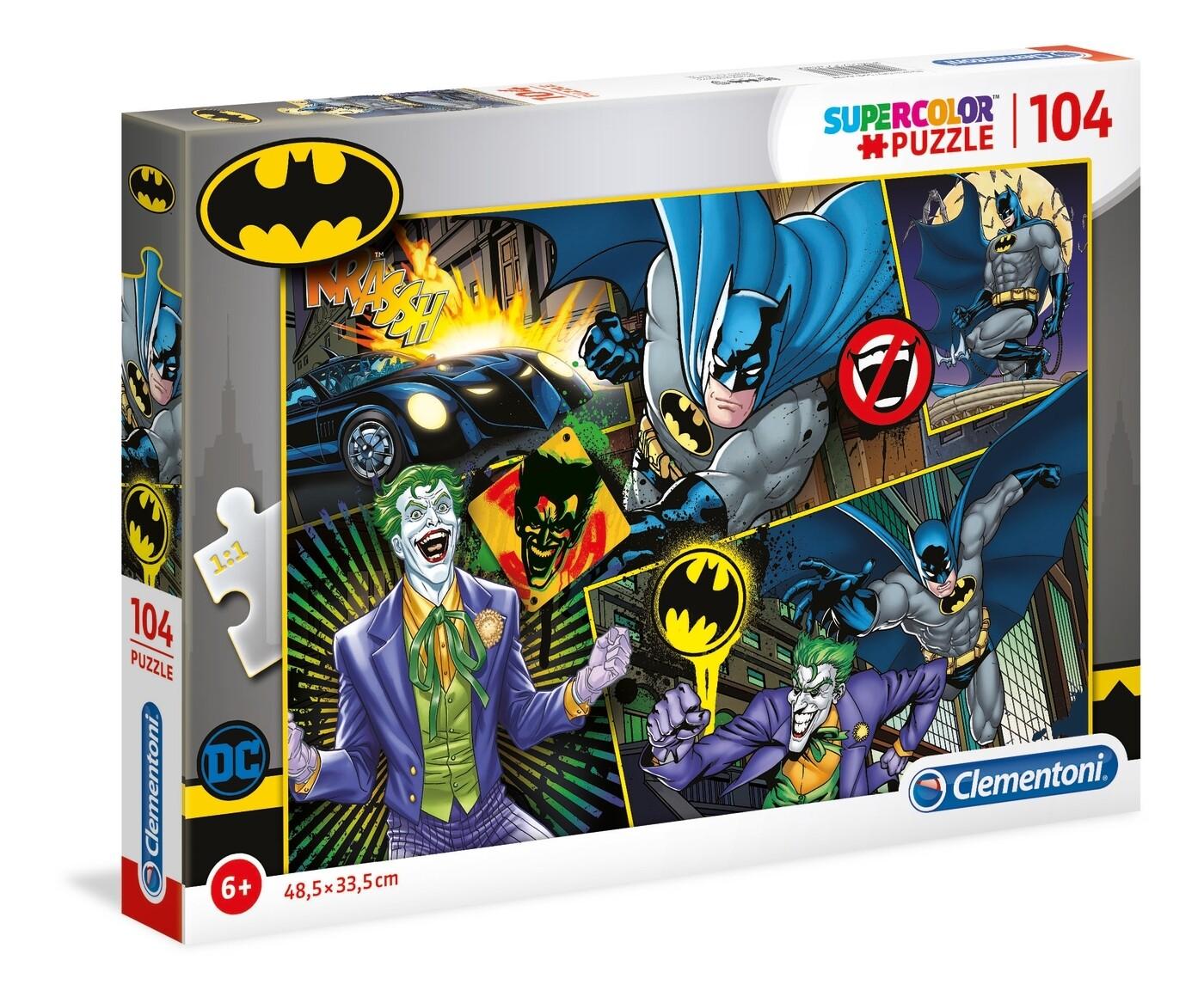 PUZZLE Super 104pcs Batman - CLEMENTONI