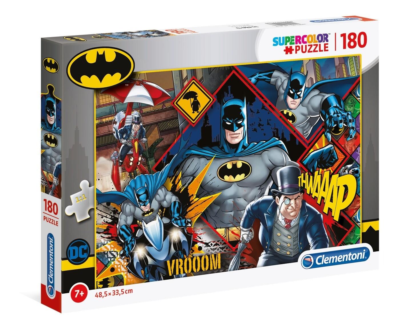 PUZZLE Super 180 pcs Batman - CLEMENTONI