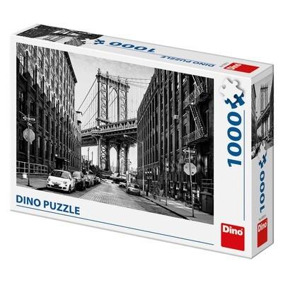 PUZZLE 1000 pcs - Manhattan Street - DINO