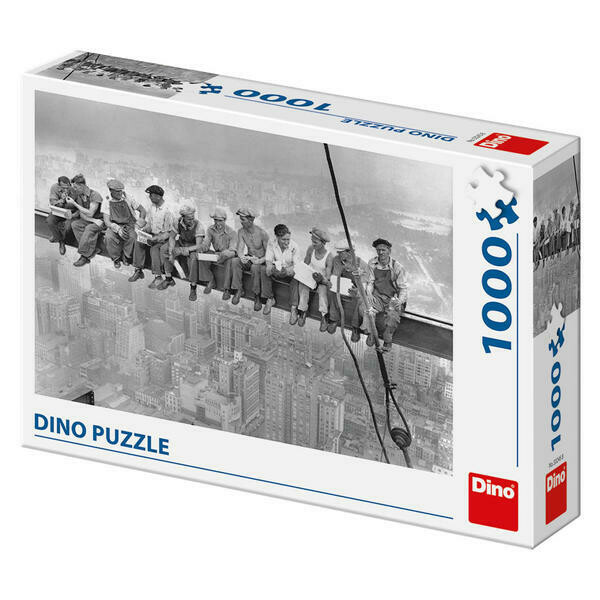 PUZZLE 1000 pcs - Workers on Girder - DINO