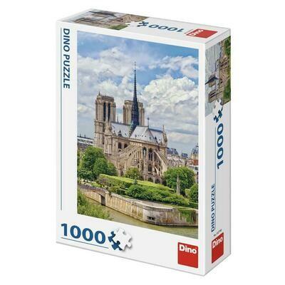 PUZZLE 1000 pcs - Notre-Damme - DINO