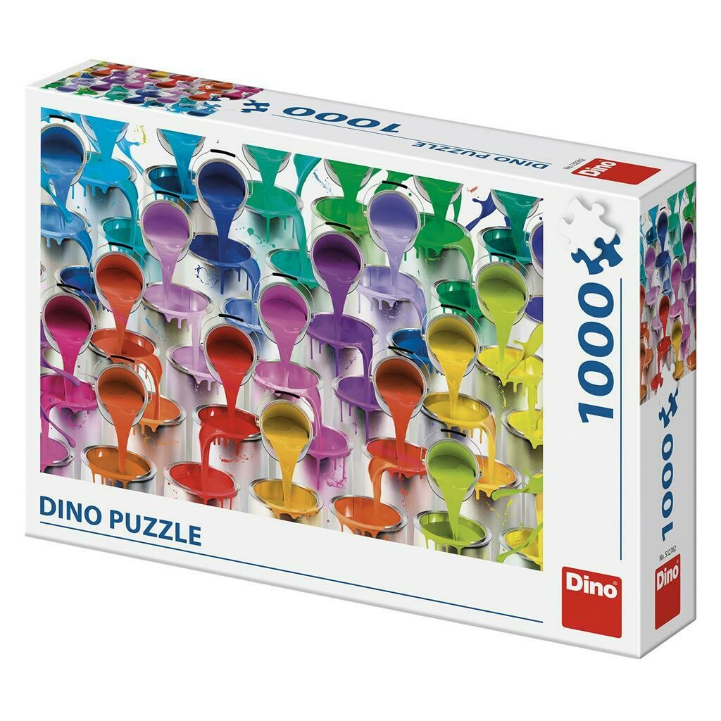 PUZZLE 1000 pcs - Colors - DINO