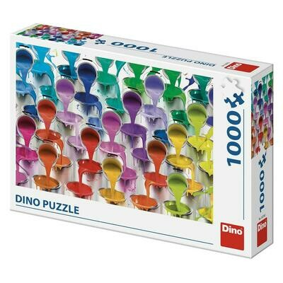 PUZZLE 1000 pcs - Colors - DINO