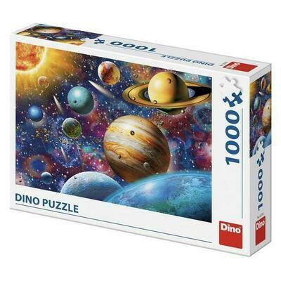 PUZZLE 1000 pcs - Planets - DINO