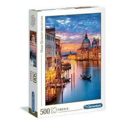 PUZZLE 500 HQ  Lighting Venice - CLEMENTONI