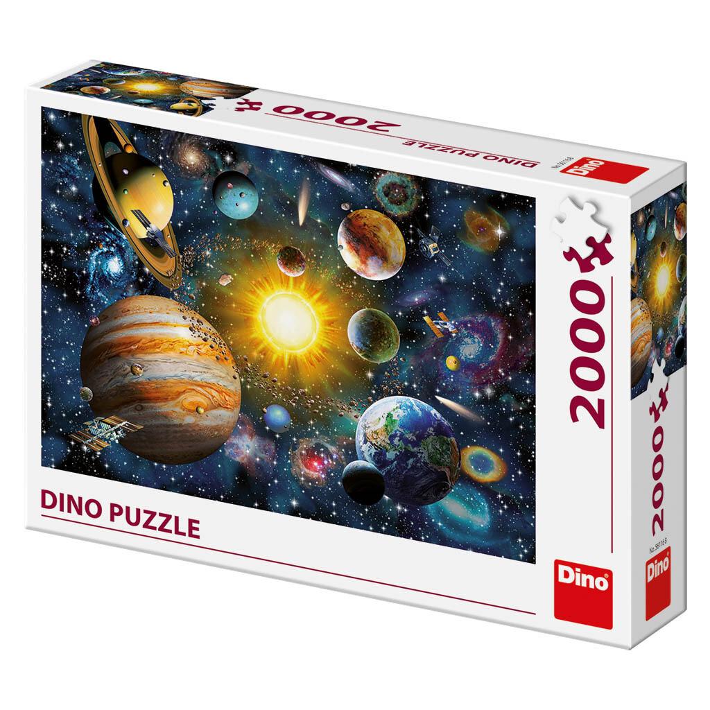 PUZZLE 2000 pcs - Sistema Solar - DINO