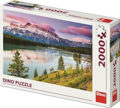 PUZZLE 2000 pcs - Montanhas Rochosas - DINO