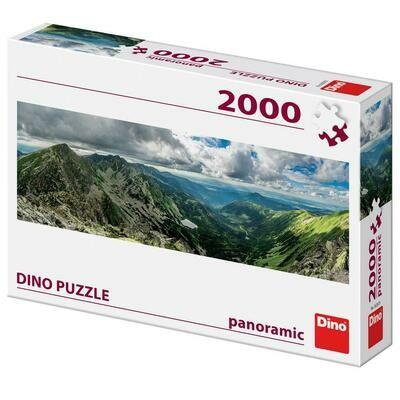 PUZZLE 2000 pcs -Montanhas Tatras Ocidentais - Panoramic - DINO