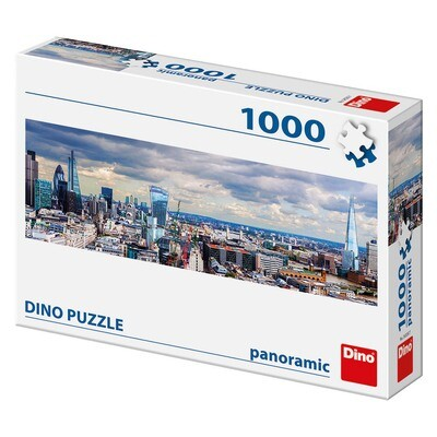 PUZZLE 1000 pcs - Vistas de Londres - Panoramic - DINO