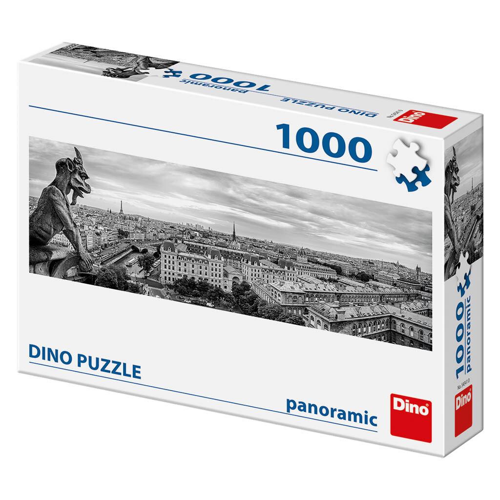PUZZLE 1000 pcs - Vistas de Paris - Panoramic - DINO