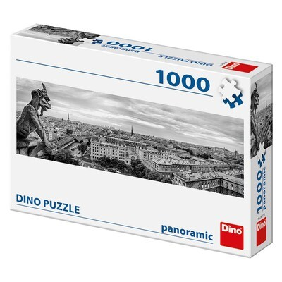 PUZZLE 1000 pcs - Vistas de Paris - Panoramic - DINO
