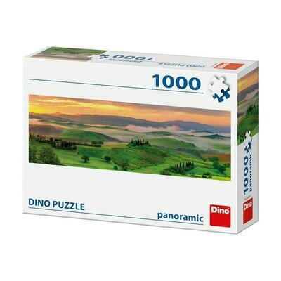 PUZZLE 1000 pcs - Pôr do Sol - Panoramic - DINO