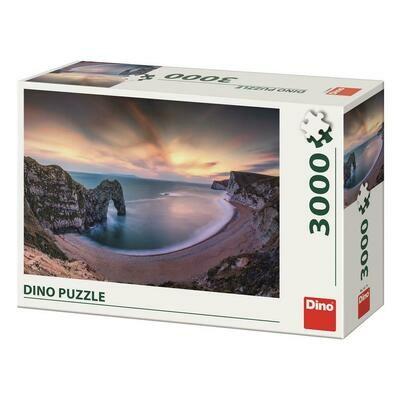 PUZZLE 3000 pcs - Aurora - DINO