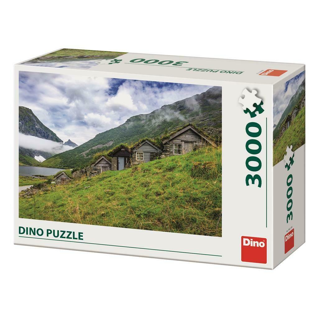 PUZZLE 3000 pcs - Vale Norangsdalen - Noruega - DINO