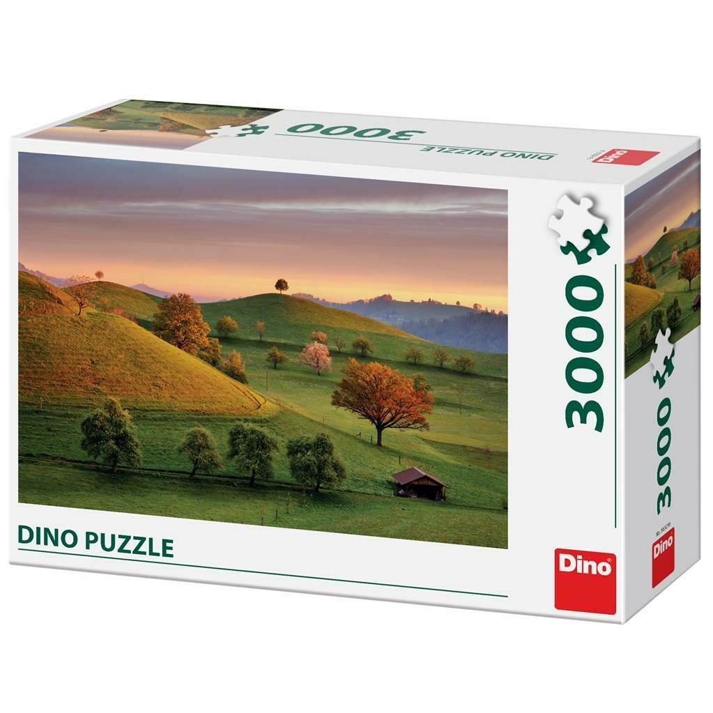 PUZZLE 3000 pcs - Aurora Fantástica - DINO