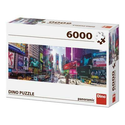 PUZZLE 6000 pcs - Times Square - Panoramic - DINO
