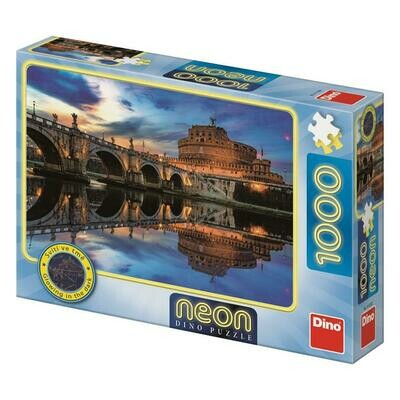 PUZZLE 1000 pcs - Castel Sant'Angelo - Neon - DINO