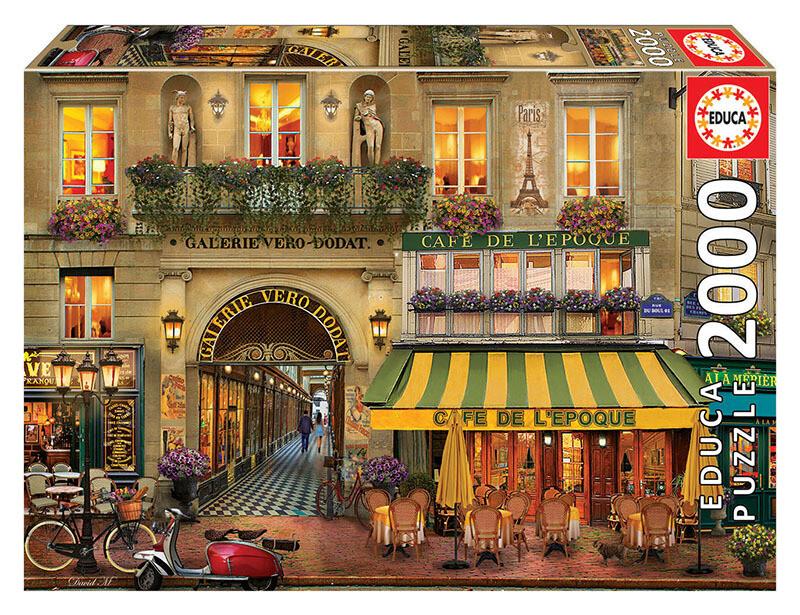 PUZZLE 2000 pcs - Galerie Paris - EDUCA