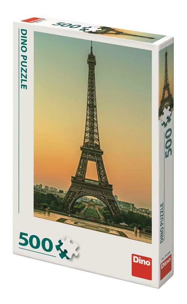 PUZZLE 500 pcs - Torre Eiffel ao Entardecer - DINO