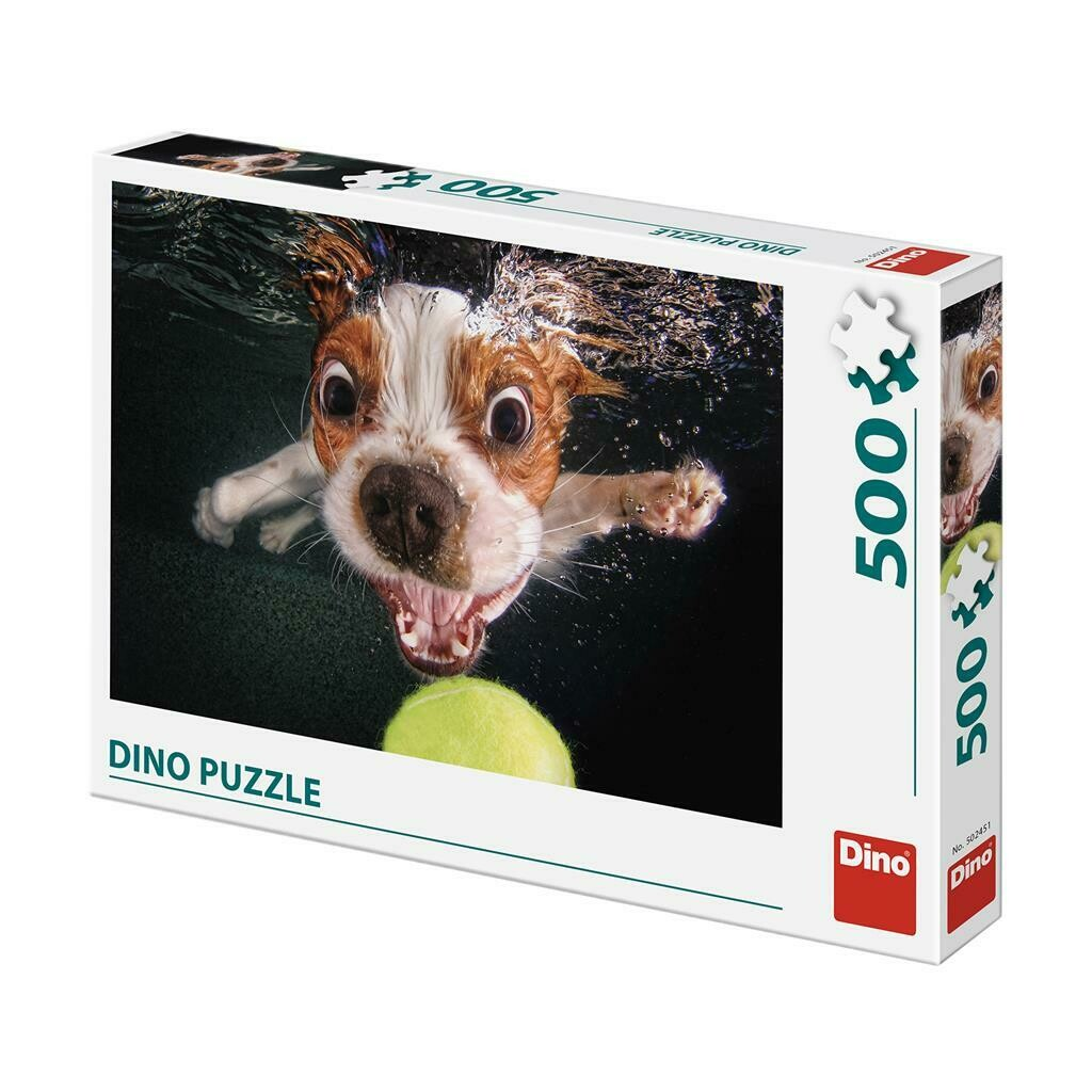 PUZZLE 500 pcs - Cachorrinho Submerso - DINO