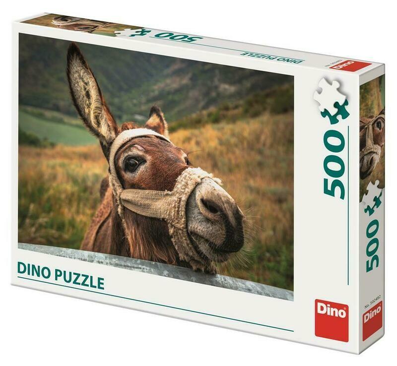 PUZZLE 500 pcs - Burro - DINO