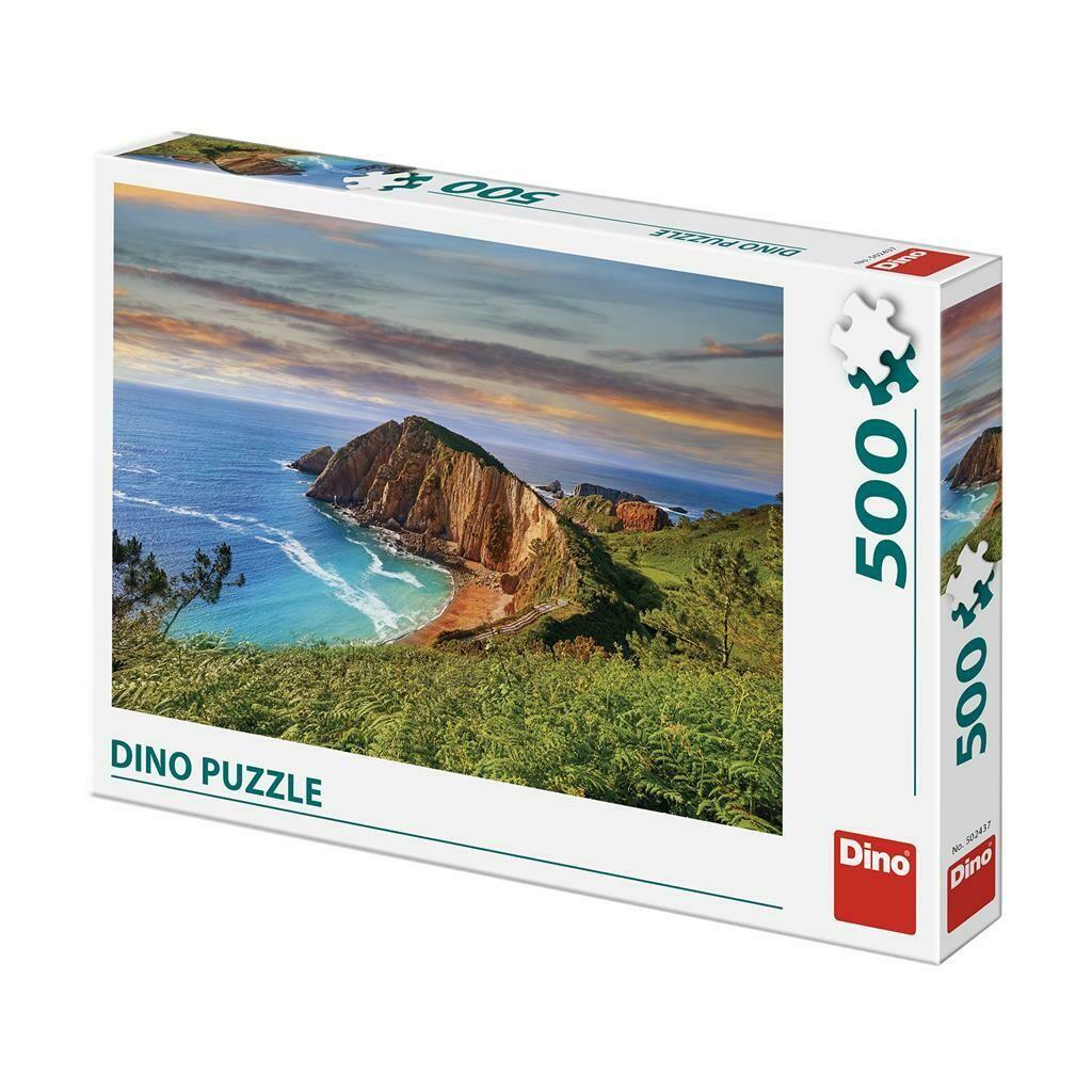 PUZZLE 500 pcs - Penhasco sobre o Mar - DINO