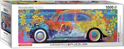 PUZZLE 1000 pcs Panoramic- Carocha Splash - Eurographics