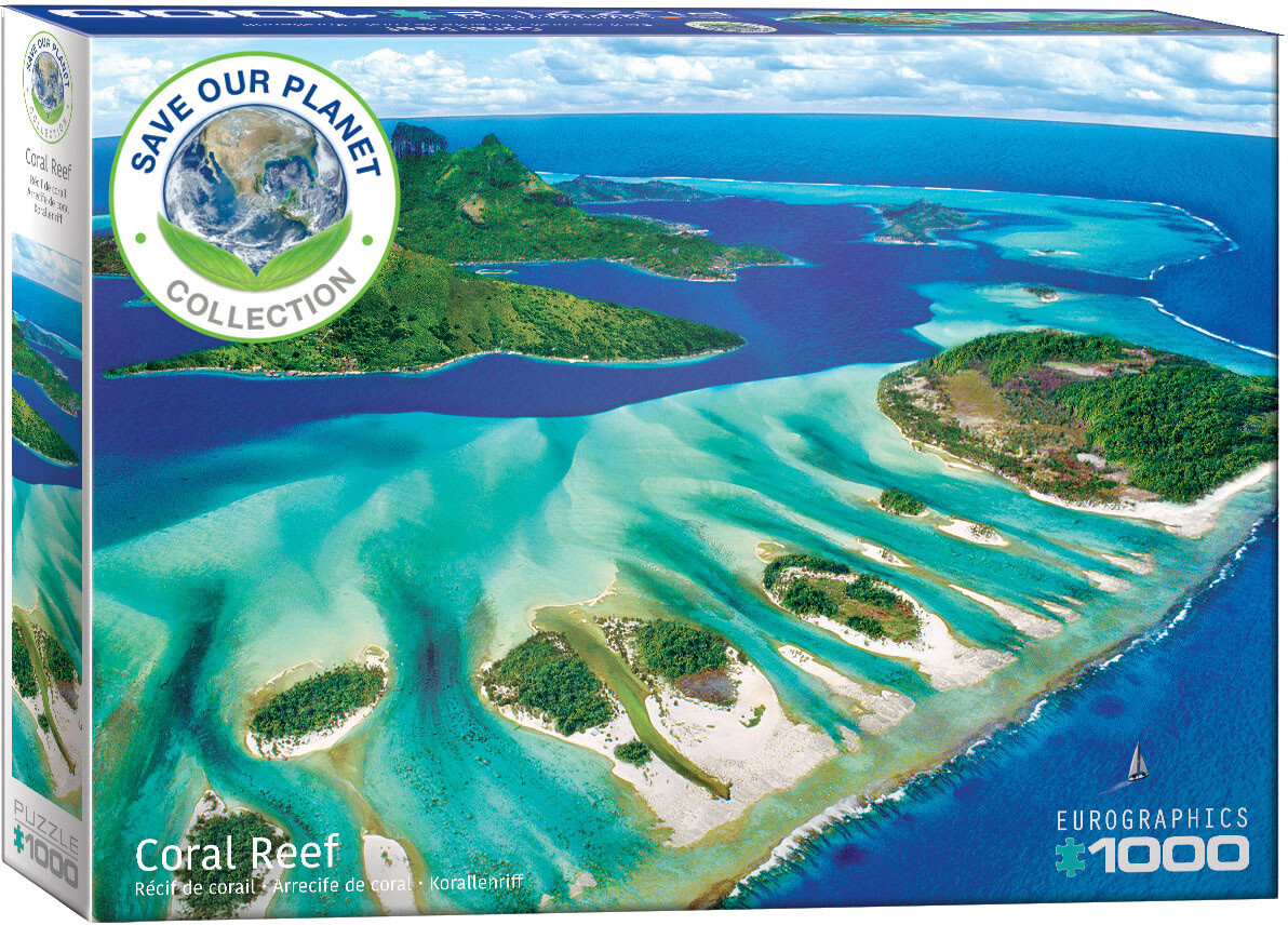PUZZLE 1000 pcs Coral Reef - Eurographics