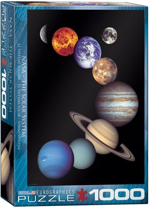 PUZZLE 1000 pcs NASA O Sistema Solar - Eurographics
