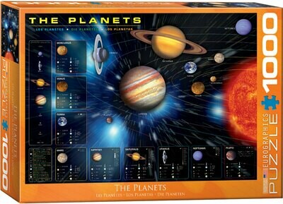 PUZZLE 1000 pcs - Planetas - Eurographics