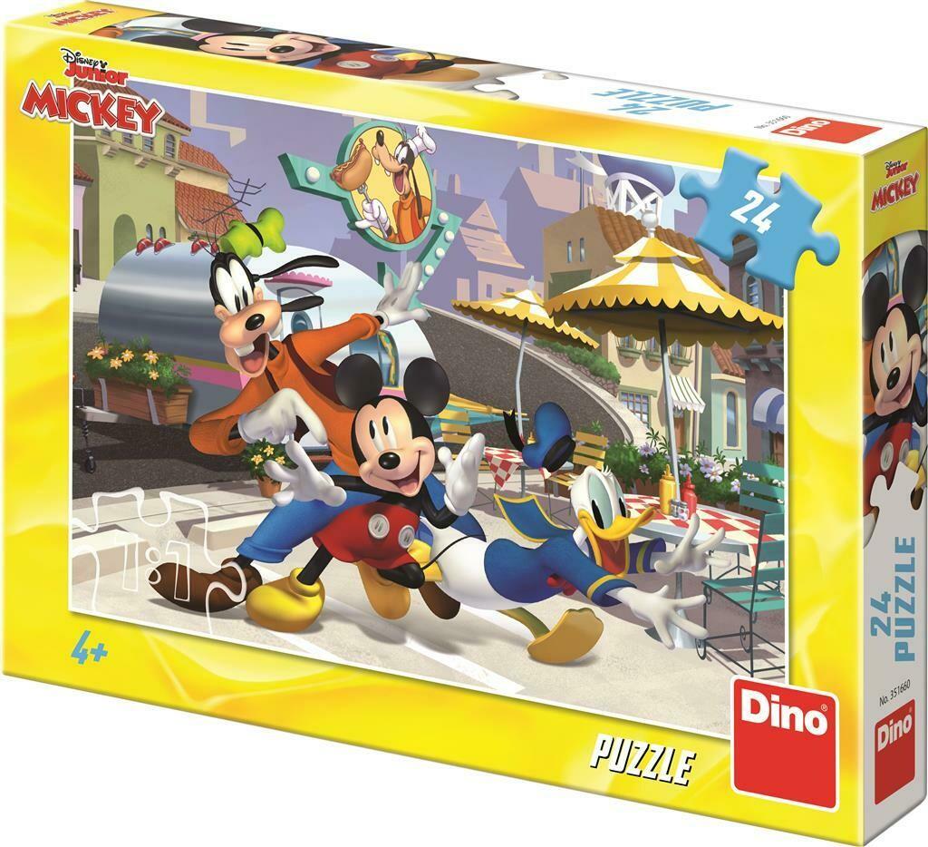 PUZZLE 24 pcs - Mickey e Amigos - Disney Junior - DINO