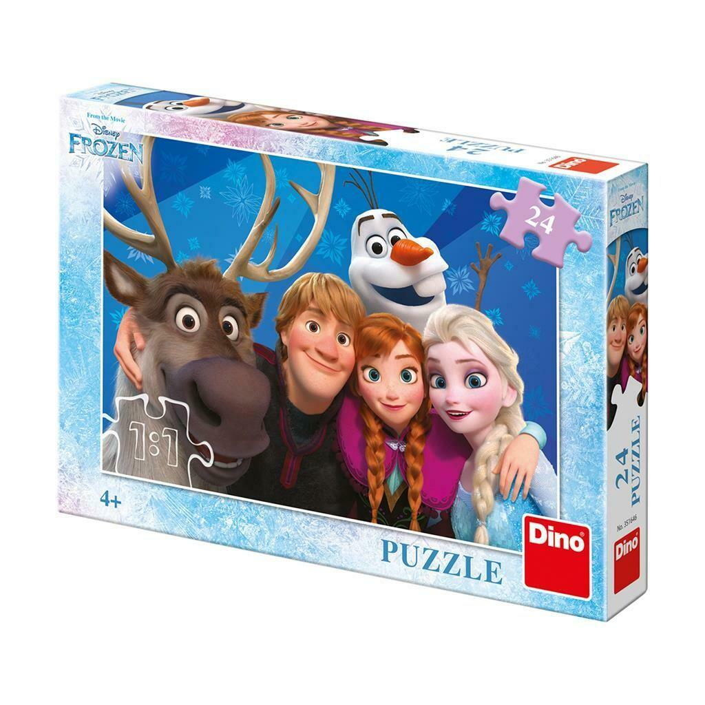 PUZZLE 24 pcs - Frozen Selfie - Disney - DINO