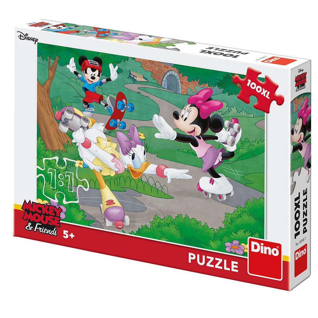 PUZZLE 100 pcs XL Minnie Sports - Disney - DINO