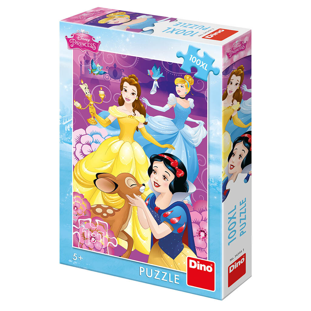 PUZZLE 100 pcs XL Princesas - Disney - DINO