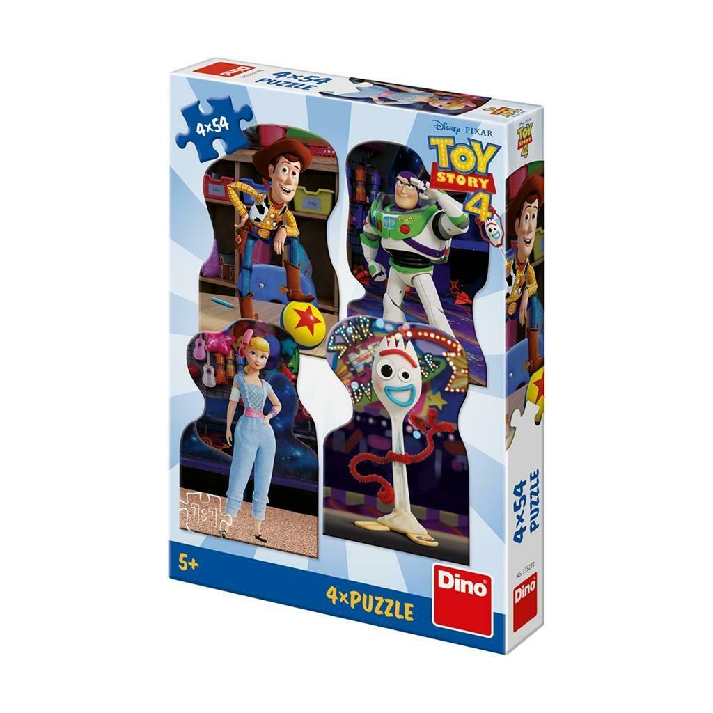 PUZZLE 4x54 pcs - Toy Story 4 - Amigos - Disney - DINO