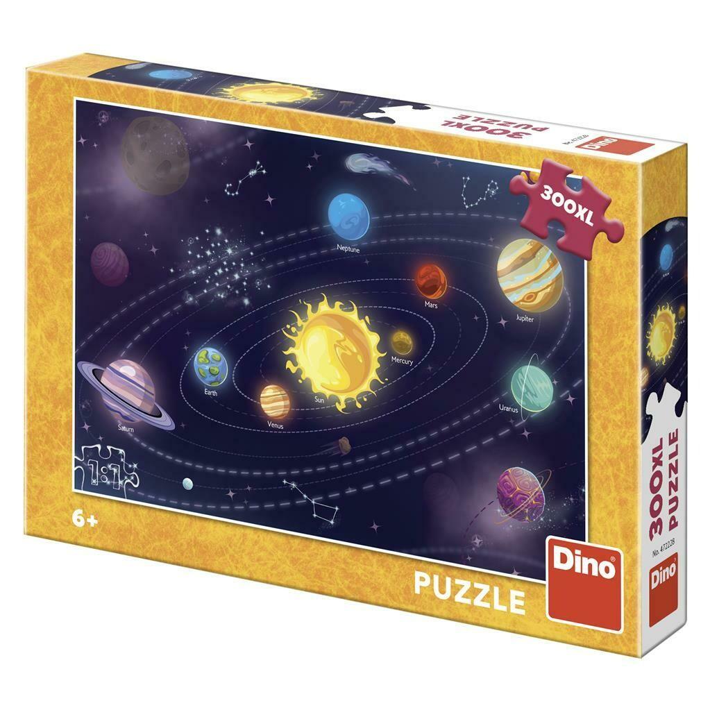 PUZZLE 300 pcs XL Sistema Solar- DINO